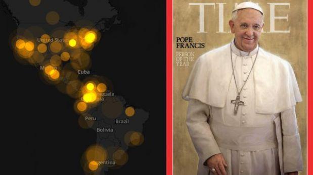 La elección de Francisco como persona del año fue un 'hit' en Twitter