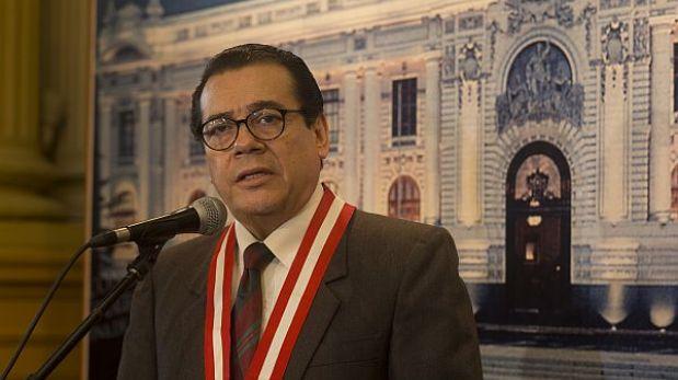 Presidente del Poder Judicial invoca a los jueces a suspender la huelga blanca