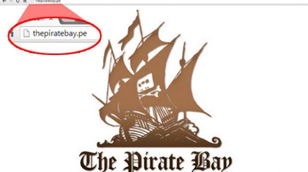 The Pirate Bay ya tiene dominio .pe