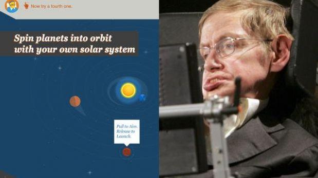 Stephen Hawking muestra el universo en su primera aplicación para iPad