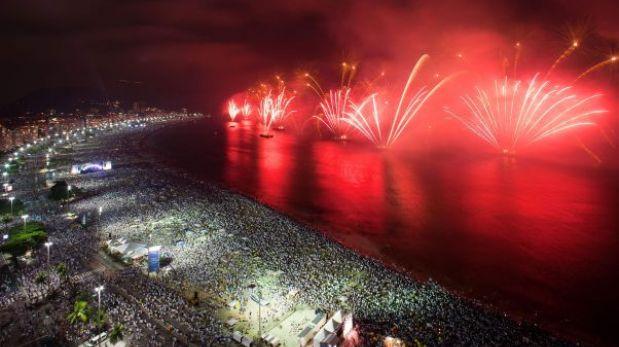 Río de Janeiro espera 2,3 millones de visitantes para Año Nuevo