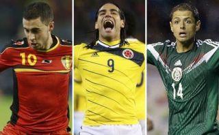 Brasil 2014: Colombia, Bélgica y México son las selecciones que menos kilómetros volarán