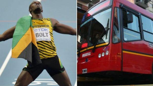 El hombre vs. la máquina: Bolt correrá contra el Metrobus de Argentina
