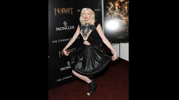 """Brooke Shields y otros famosos en proyección especial de """"El Hobbit"""" [FOTOS]"""
