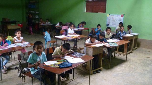 Las deficientes condiciones en las que estudian los niños de las escuelas más alejadas del Perú [FOTOS]