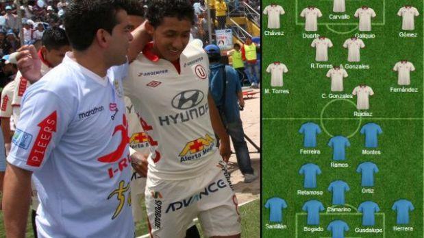 Universitario vs. Garcilaso: así alinearían los equipos en el Monumental