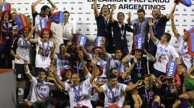 San Lorenzo se coronó campeón en Argentina y el Papa festeja en Roma