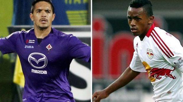 Europa League: Fiorentina de Vargas y Red Bull Salzburgo de Yordy Reyna ya conocen a sus rivales