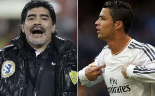 """Diego Maradona: """"El Balón de Oro debería ganarlo Cristiano Ronaldo"""""""