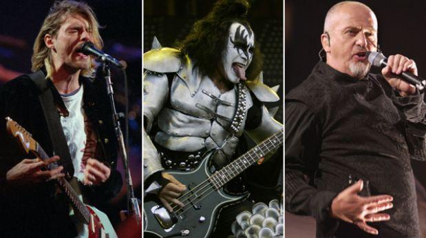 Nirvana, Kiss y Peter Grabriel ingresarán al Salón de la Fama del Rock