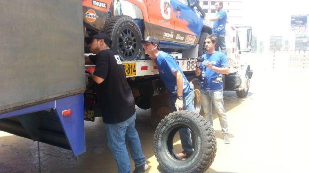 Estos son los pilotos peruanos que competirán en el Dakar 2014 [FOTOS]