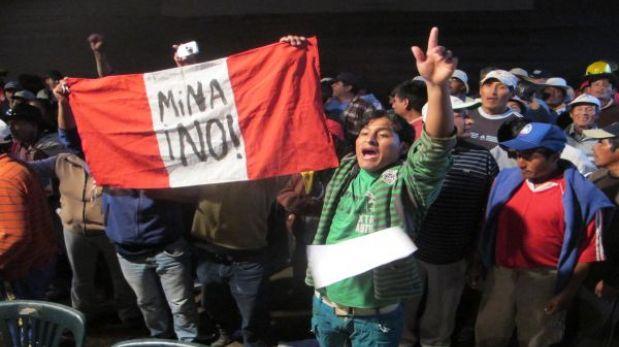 Pobladores de Cocachacra realizan huelga de hambre contra Tía María