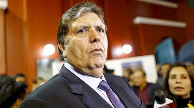 Alan García acusó que detrás de informe de 'narcoindultos' está la pareja presidencial