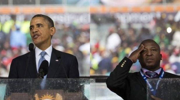 'Falso' intérprete del funeral de Mandela fue internado en clínica psiquiátrica