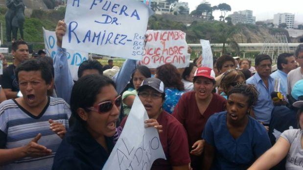 Trabajadores de salud denunciaron despidos y falta de pagos en Agua Dulce