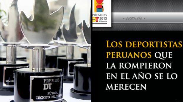 Premios DT 2013: Vota aquí por tus favoritos