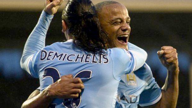Manchester City venció 4-2 al Fulham y es segundo en la Premier League