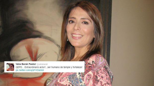 Reacciones de famosos en Twitter tras la muerte del actor Aristóteles Picho [FOTOS]