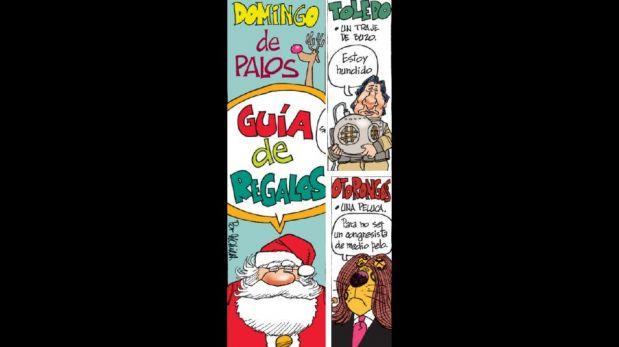Humor político: ¿Qué le regalaría Papa Noel por Navidad a ...?