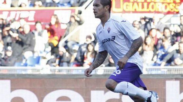 Vargas cerró el año como titular y con un triunfo de la Fiorentina
