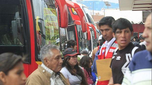 Empresas de transporte no respetan el descanso de sus choferes