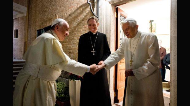 Papa Francisco visitó a Benedicto XVI por Navidad [FOTOS]