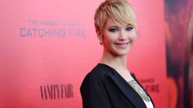 Jennifer Lawrence se convirtió en la Artista del Año