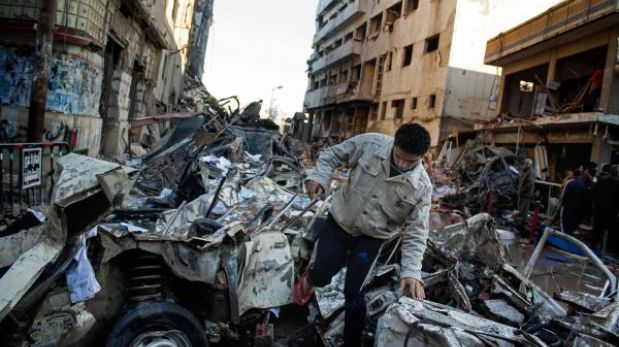 Egipto: explosión de carro bomba deja al menos 14 muertos