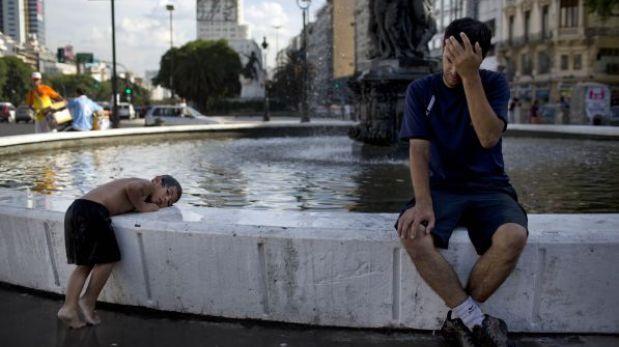 Calor en Argentina: declaran alerta roja en Rosario y naranja en Buenos Aires