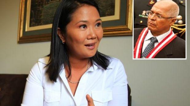 """Keiko Fujimori calificó de """"farsa"""" el juicio contra su padre tras correos de San Martín"""