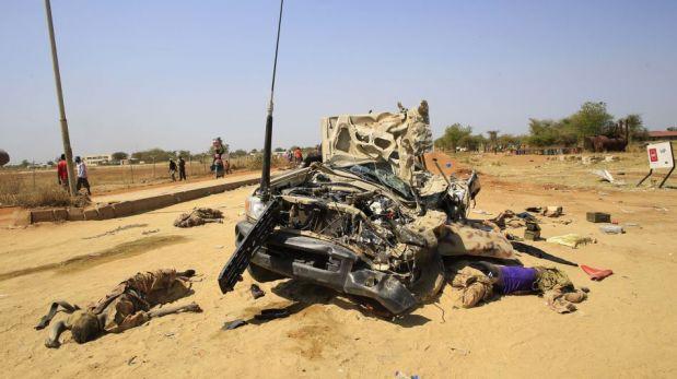 Sudán del Sur: producción de crudo se hunde por la guerra