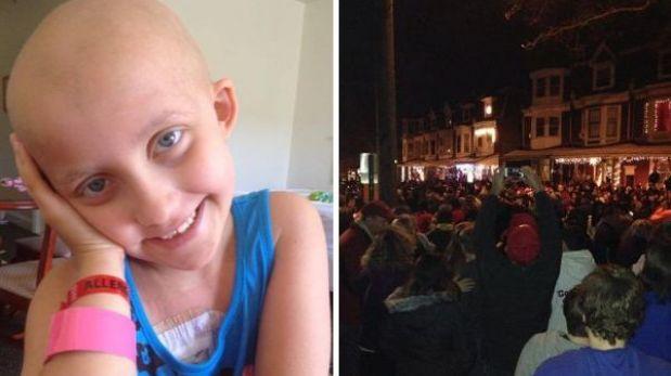 Murió en Navidad la niña que inspiró a 10 mil personas a cantar villancicos