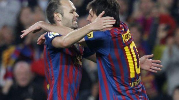 """Andrés Iniesta: """"Si Messi gana el Balón de Oro sería el triunfo de todos"""""""