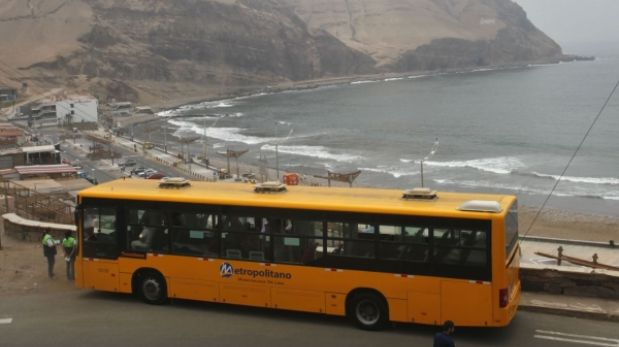 Metropolitano llega desde hoy a cuatro playas