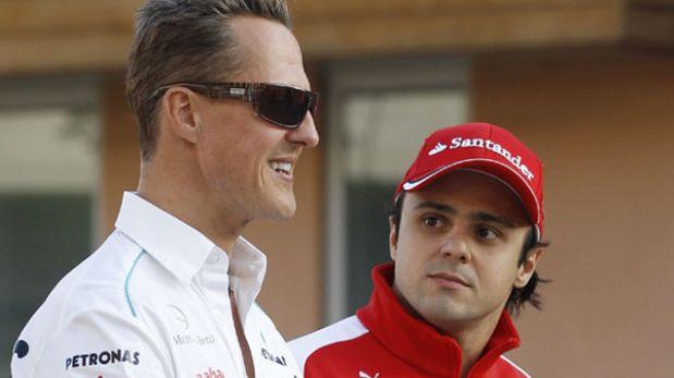 "Massa a Michael Schumacher: ""¡Que Dios te proteja hermano!"""
