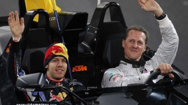 """Sebastián Vettel sobre accidente de Michael Schumacher: """"Estoy en shock"""""""