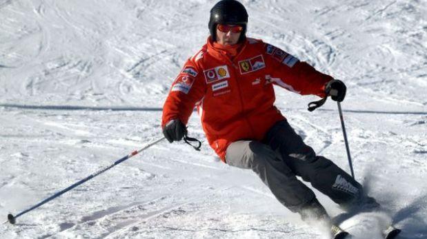 Schumacher en coma: el 40-45 % de accidentados como él muere precozmente