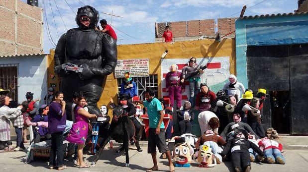 Más de 1.500 muñecos serán quemados en Lambayeque este Año Nuevo [FOTOS]