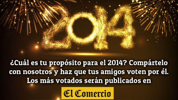 Feliz Año Nuevo: comparte tu propósito para el 2014
