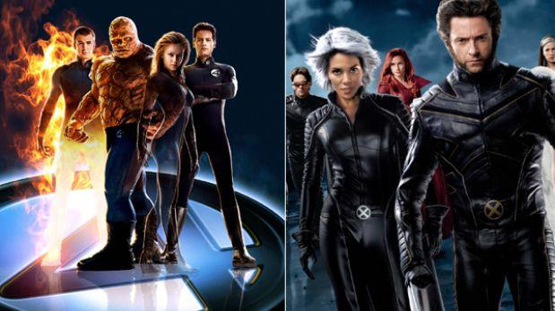 """Los """"X-Men"""" ahora enfrentarían a """"Los 4 fantásticos"""" en nueva película"""
