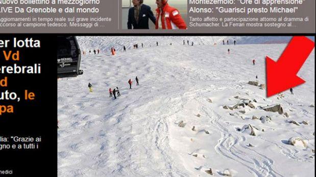 Michael Schumacher en coma: este es el lugar exacto donde se accidentó