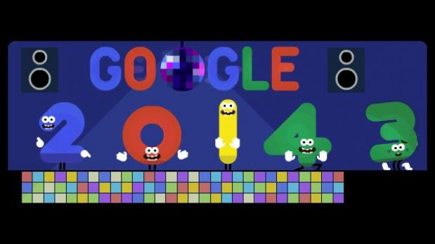 Año Nuevo: el 2013 se va y Google aguarda el 2014