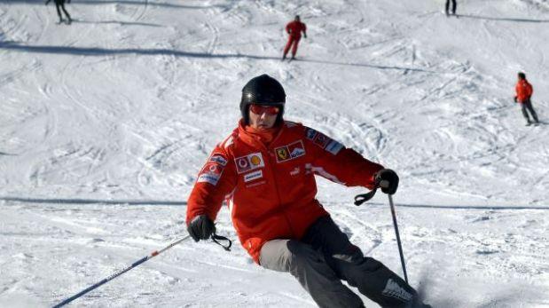 """Schumacher se accidentó por """"ayudar a un amigo"""", afirmó su representante"""