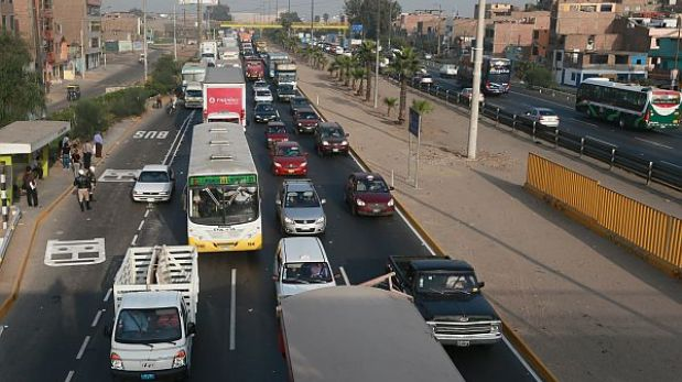 Empresas de transporte evalúan alza de pasajes por incremento en peajes