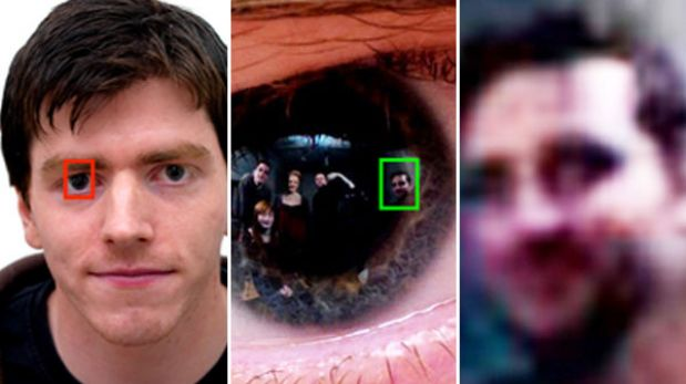 Las imágenes reflejadas en los ojos de una persona fotografiada pueden ser rescatadas