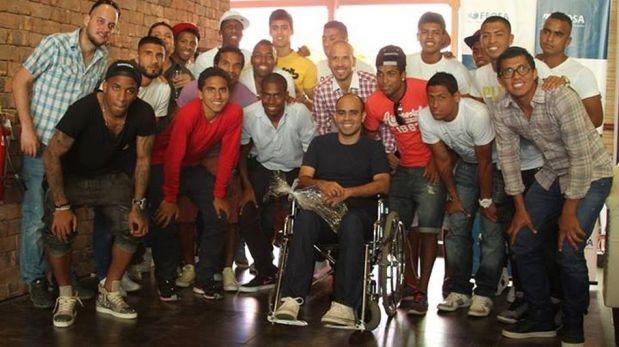 Julio García compartió gratos momentos con Jefferson Farfán, Yordy Reyna y Rinaldo Cruzado [FOTOS]