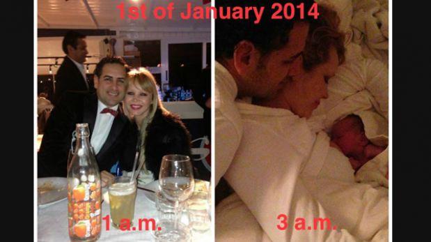 Juan Diego Flórez recibió el Año Nuevo con el nacimiento de Lucía Stella, su segunda hija