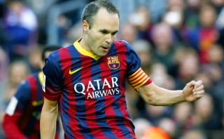 """Iniesta apunta al triplete: """"Un buen 2014 sería ganarlo todo"""""""