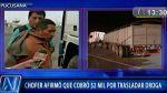 Pucusana: 129 kilos de droga halló la Policía en un camión que iba a Lurín - Noticias de difusióhn