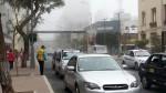 Niebla cubrió hoy Miraflores y otros distritos costeros de Lima - Noticias de sara olivares